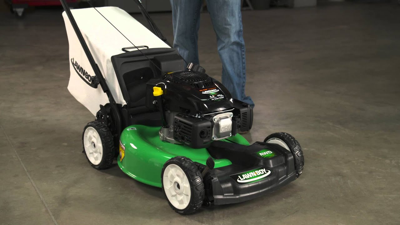 Adjust The Traction On A Lawn Boy All Wheel Drive Mower
