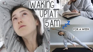 Baixar WAKING UP AT 5AM FOR A WEEK 😳 | LOCKDOWN WEEK IN MY LIFE