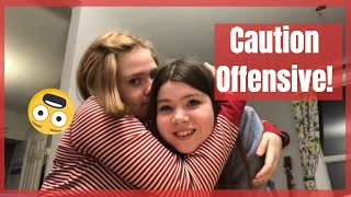 Offensive Tics - lots of swearing and offensive words and actions