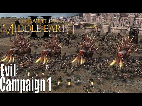 The Lord Of The Rings: The Battle For Middle-earth 2 Evil Campaign Part 1 Torching of the Elves
