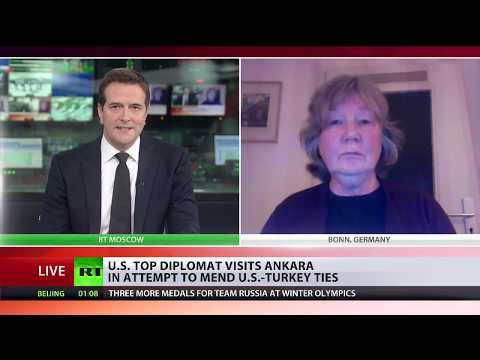Karin Leukefeld comments for RT channel
