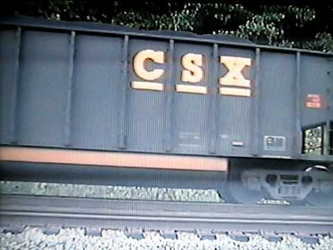CSX Coal Train at the Scales in Barboursville, W.Va.