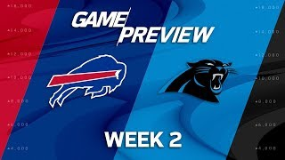 Buffalo Bills vs. Carolina Panthers | Week 2 Game Preview | NFL Total Access