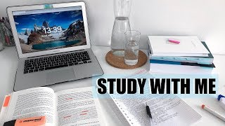 NEED TO STUDY? Study With Me for 50 Minutes!