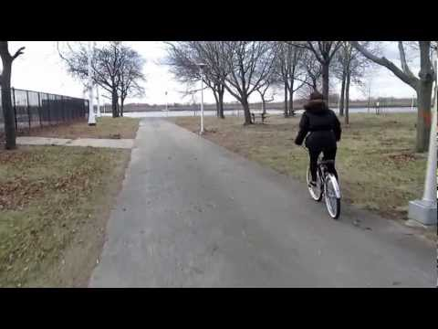Cruising in North Woodmere Park in Late November