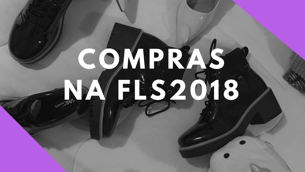 aa13ad3e2 COMPRAS NA FEIRA DA LOUCURA POR SAPATOS 2018 - Jéssica Hoffmann ...