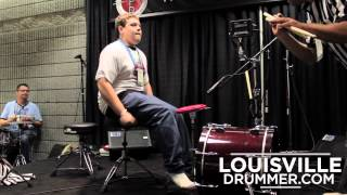 2012 World's Fastest Drummer Finals - Battle of the Feet
