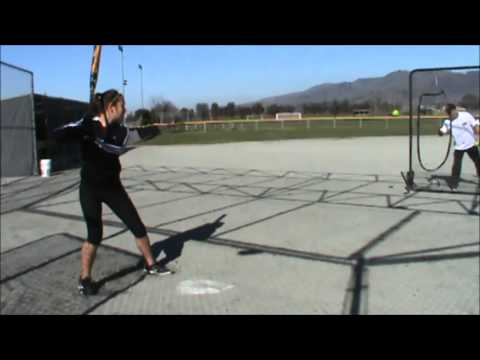Feb 2015 pre season tape Sara Sakamoto 12U SJ Lady Sharks Softball