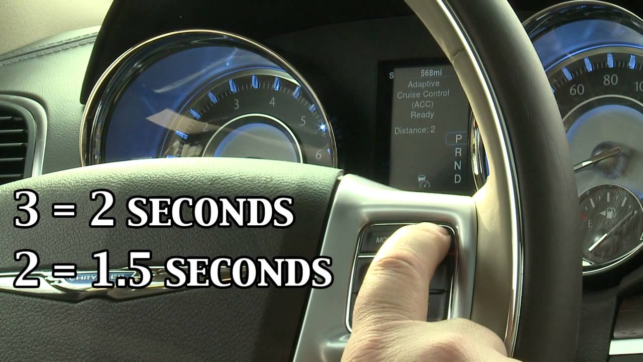 Chrysler Adaptive Cruise Control YouTube