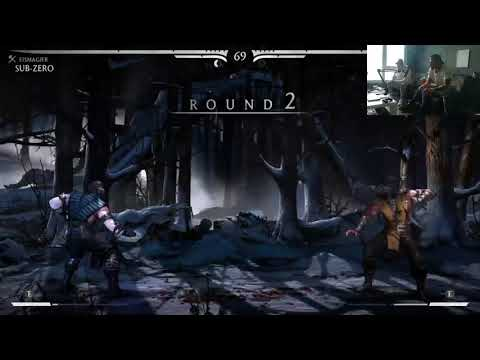 Jigzaw Rappt 'Bubble Butt' von Seyed! Seyed vs Jigzaw Mortal Combat Duell! | Streamauschnitt 26.8.18