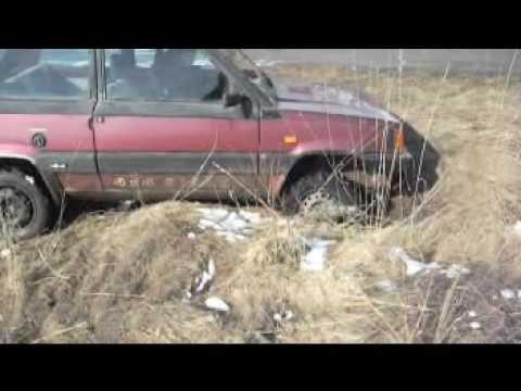 Fiat panda 4x4 off road movie 4 youtube for Panda 4x4 sisley off road