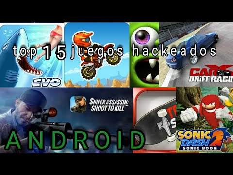 Top 15 Juegos Hackeados Android No Root Parte 1 Mago Youtube