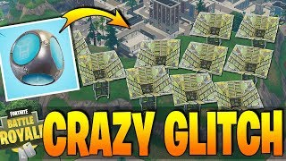 Fortnite - INSANE GLITCH - How To Get INFINITE PORT-A-FORTS !! - New Weapon & More Meteors!