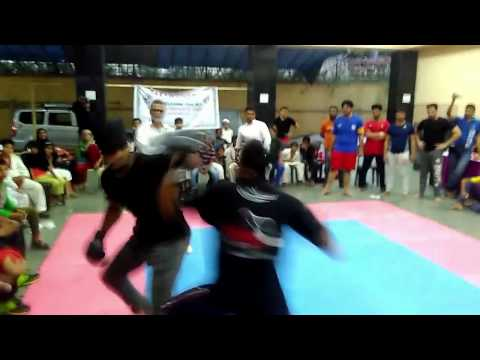 Motivational Kick Boxing Fight ( JAWWAD VS GOPI ) 2017