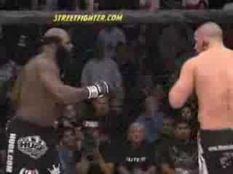 Saturday Night Fights-Kimbo Slice Rips some Guys Ear