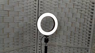 Обзор кольцевой лампы 16см, 80 LED, 5W - paskar.ru