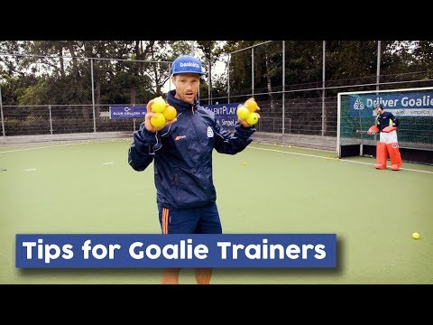 Tips For Goalie Trainers | Hockey Heroes TV