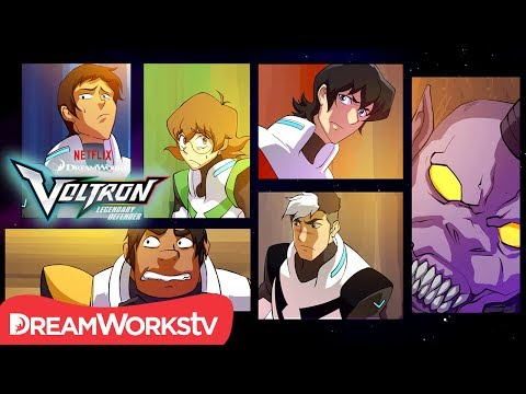 [MOTION COMIC] Shakedown at the Fripping Bulgogian | DREAMWORKS VOLTRON LEGENDARY DEFENDER