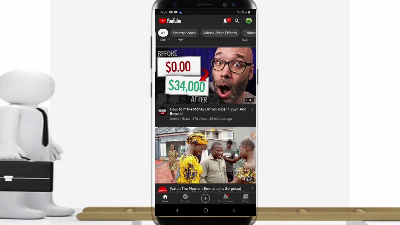 Download #YouTube #Hausa Yanda zakuyi downloading video daga YouTube zuwa kan wayanku (2020).