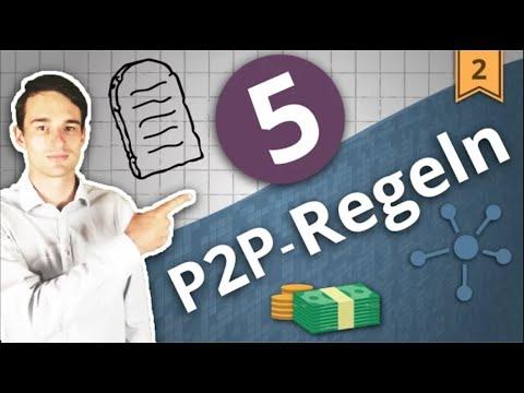 Die 5 wichtigsten REGELN zum Investieren in P2P Kredite | Investieren in P2P Kredite #2