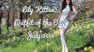 1960's Style Outfit of the Day | July 2014 | Lily Kitten | #OOTD Thumbnail