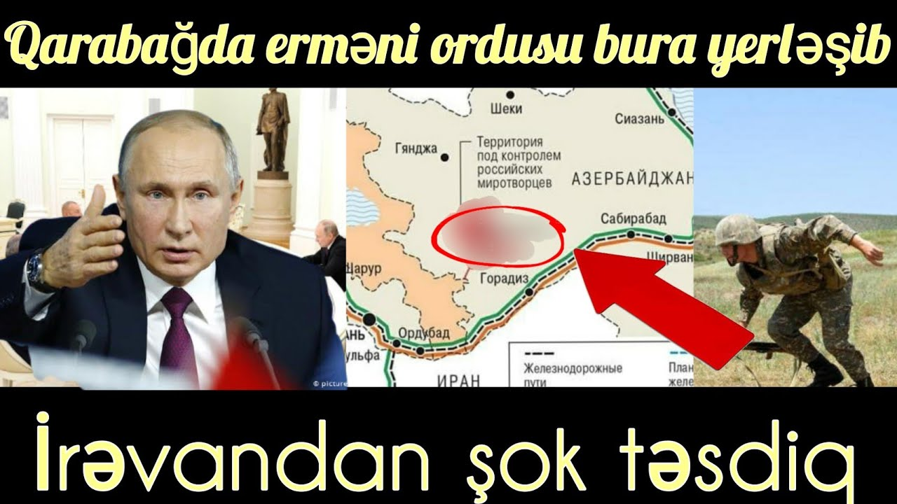 QARABAĞDA ERMƏNİ ORDUSU BURA YERLƏŞİB! -