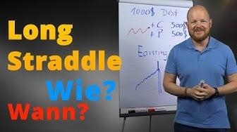 Wann und wie funktioniert ein Long Straddle?
