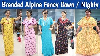 WHOLESALE MARKET OF NIGHTY IN MUMBAI BRANDED ALPINE FABRIC NIGHTY ALFINE FABRIC NIGHTY MANUFACTURER