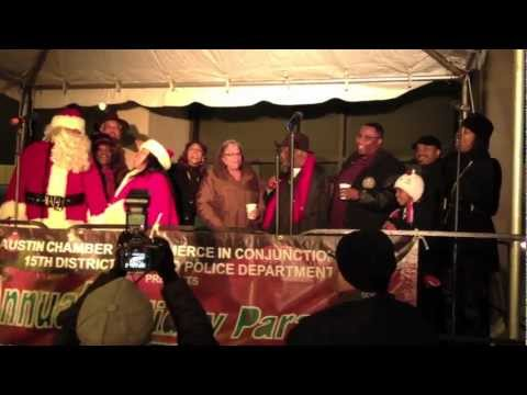 Austin Chamber of Commerce holds annual Austin Parade and Tree Lighting