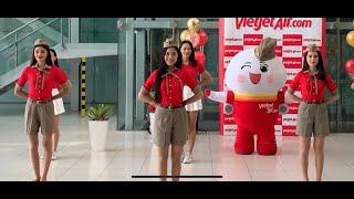 Fly For Love การแสดงพิเศษจากแอร์ฯ Thai Vietjet! ที่จะแสดงให้ผู้โดยสารชมในช่วง Fancy Friday Flight
