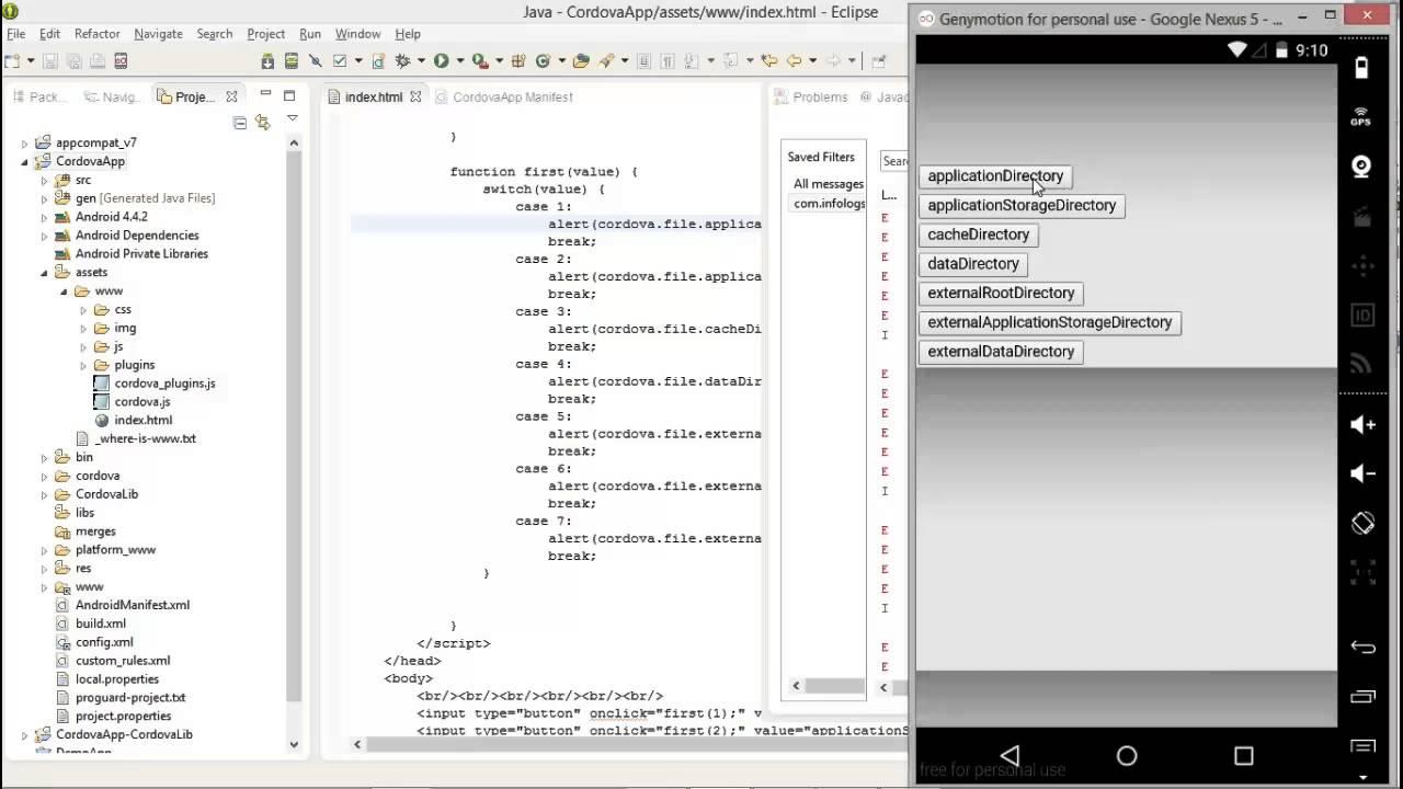 App has no index.html