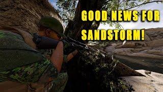 Good news for Insurgency: Sandstorm!
