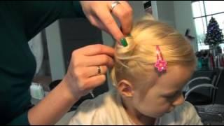 Kucyki  fryzura dla dziewczynki