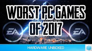 The Worst PC Games of 2017