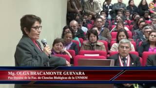 Tema: Ceremonias de Asunción al Cargo de Decanato Fac. Ciencias Biológicas