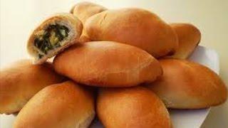 Пирожки на Кефире с Луком и Яйцом-РЕЦЕПТ