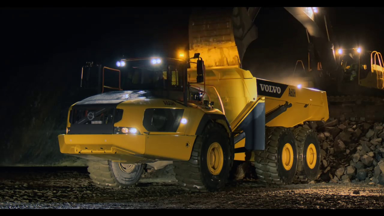 Volvo A60H articulated hauler: Profit in every load - YouTube