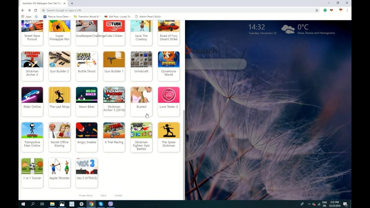 Aesthetic Hd Wallpaper Theme For Chrome Free Youtube