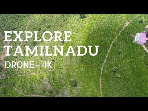 Amazing Tamil Nadu - Aerial Perspective in 4K !