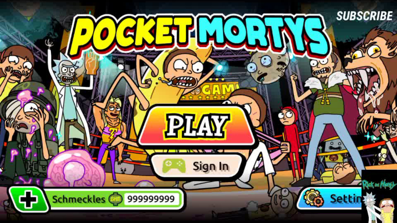 Pocket Mortys hacked version MOD APK [May 2017 Working!!!]