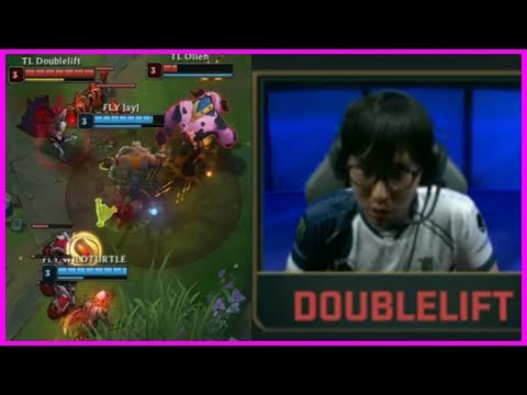 Doublelift Master Baits His Own Teammate - Best of LoL Streams #400
