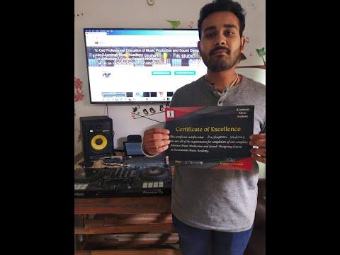 Anshuman Shrivas - ( Testimonial ) for iLLuminati Music Academy