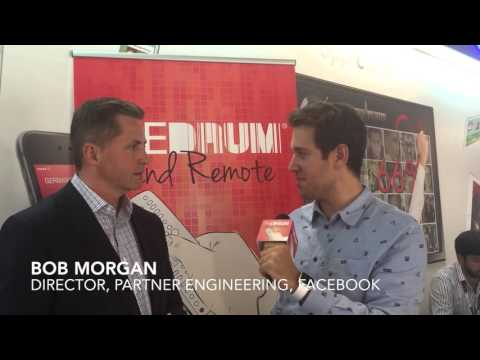 MIPCOM: Interview with Facebook's Bob Morgan on their new tools for broadcasters