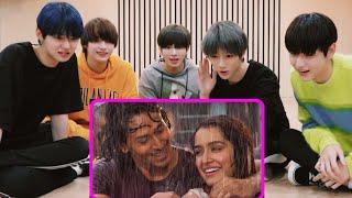 [TXT] KOREAN REACTION TO BOLLYWOOD SONGS || CHAM CHAM SONG - BAAGHI || TIGER SHROFF, SHRADDHA KAPOOR