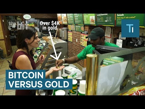 I Spent A Day Trying To Pay For Things With Bitcoin And A Bar Of Gold