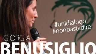 Giorgia Benusiglio al Sermig - Università del Dialogo