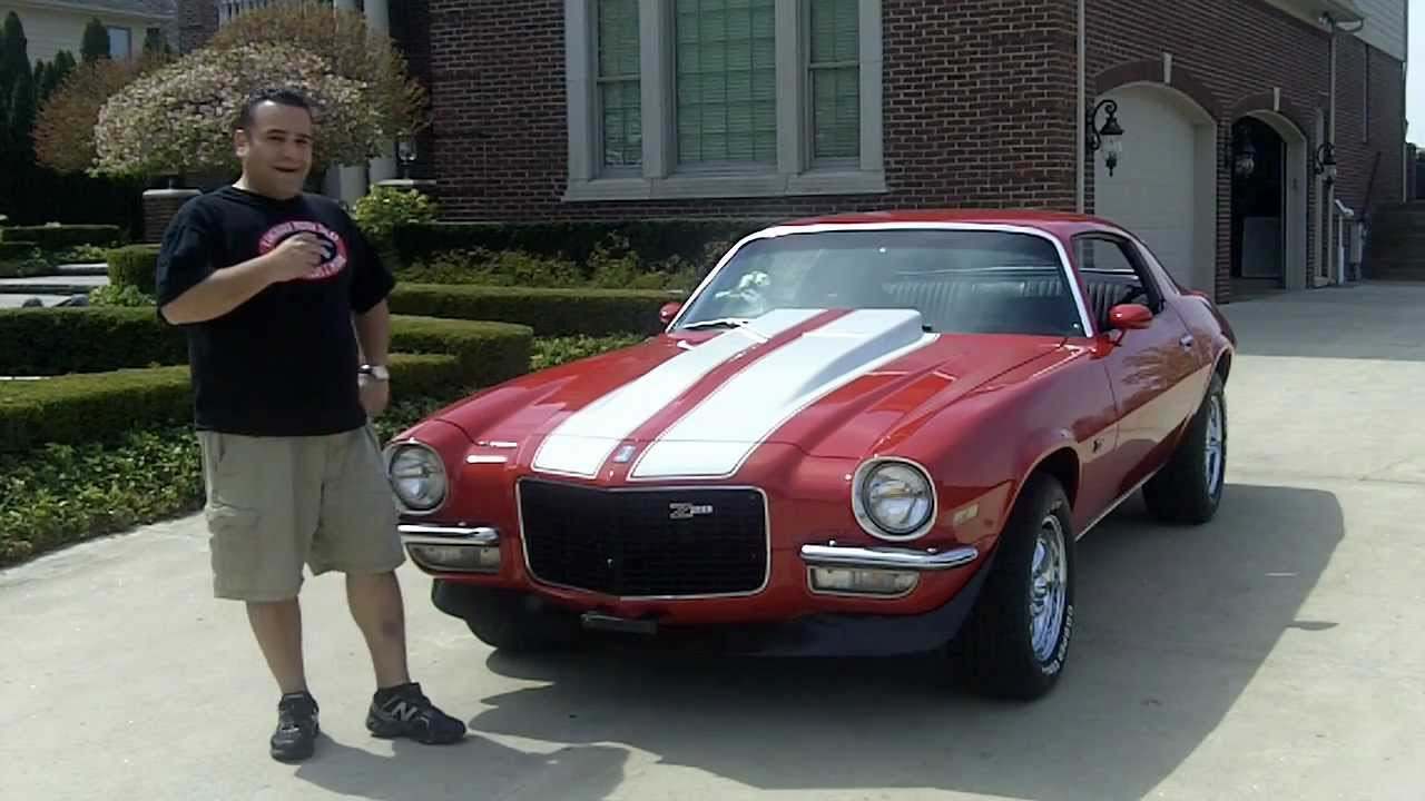 1970 Chevy Camaro Z 28 Clone Classic Muscle Car For Sale