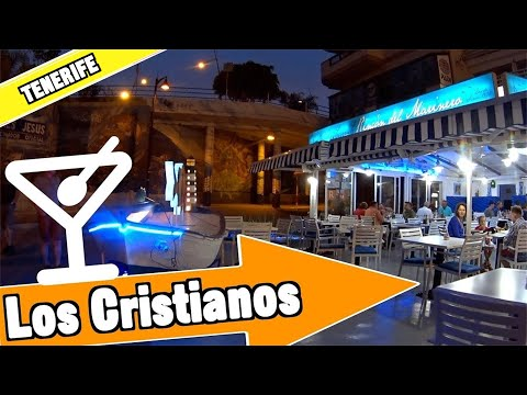 Los Cristianos Tenerife Spain: Evening and nightlife