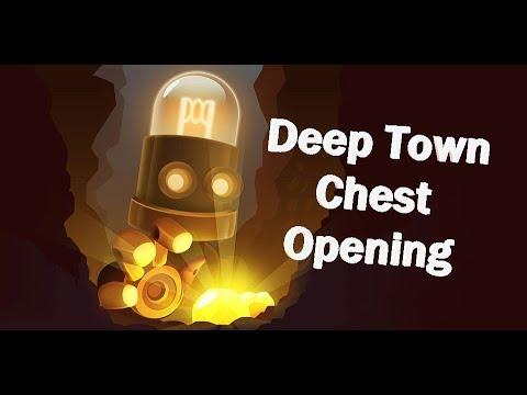 Deep Town Massive Chest Opening: 70 Free, 4 Rare, & 1 LEGENDARY