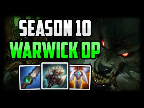 Warwick Jungle is STRONGER Than EVER BEFORE! - Warwick Commentary Guide  League of Legends Season 10